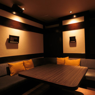 <<和食屋のソファ席>>