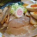 麺一盃 - 具沢山な特製です!(^^)!