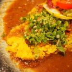 シナジー - 愛がけカレー(イベリコ豚キーマ×ジンジャーポーク×ほろほろチキン)の和の副菜