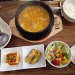 109092519 - 豆腐チゲセット