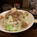 濃菜麺 井の庄 - メガベジ(パスポート使用)、こってり