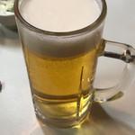 五味酉 - 生ビール(中)