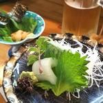 寿し春 - 料理写真:奥のウニ美味しい