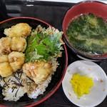 みなと食堂 - 料理写真:はも天丼 800円(税抜)