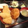 蒼屋 - 料理写真:カツ3枚 厚切りハムカツ