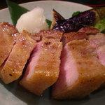 米蔵 - 豚バラ肉の炙り焼き