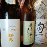 おか田 - (2011/11月)鍋島NEWMOONなど希少な日本酒が呑めました。