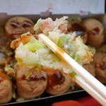 おやきの富士屋 - 料理写真:たこ焼き10個入450円