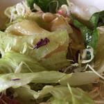 ガスト - ランチセットのサラダ
