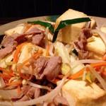 あぐ〜の豆腐チャンプルー