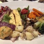 ピッツェリア ダル リッチョロ - Ricciooの前菜盛合せ(10品)