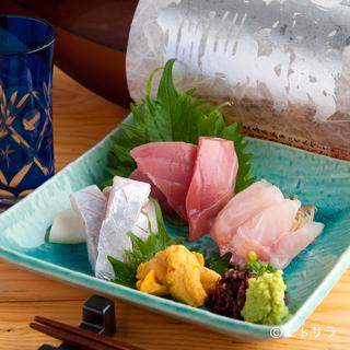 季節ごとに異なる素材の魅力が光る旬魚を築地市場で厳選
