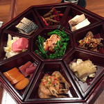 中国料理 仙ノ孫 - 本日の前菜贅沢盛り