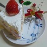 10911193 - クリスマスケーキ 取り分け