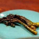 飛騨季節料理 肴 - 2019.6 タラの芽の味噌炒め