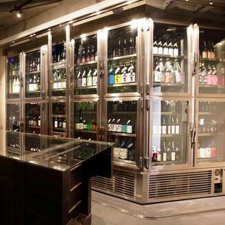 日本酒をマイナス温度帯で熟成する氷温庫