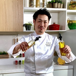 神子健(カミコタケル)自由な発想で独自の進化を目指す料理人