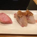 大天寿司 - 大トロ カンパチ 鯛