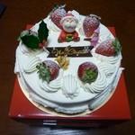 ガトーめぐろ - 2011.12 再訪 クリスマスケーキ