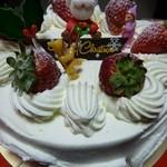 ガトーめぐろ - 2011.12 再訪 クリスマスケーキのアップ♪