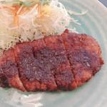 109121227 - 今日はローズ味噌カツ定食