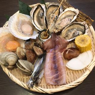 リーズナブルで海鮮を中心に多数メニューご用意!