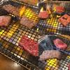 南大門 - 料理写真:左は上ロース、右上は骨抜きカルビ、右下はタン塩