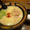一蘭 - 料理写真:ラーメン+替玉1080円