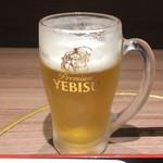 北海道焼肉 ふらの 肉割烹 - 昼からビール
