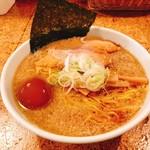 きくちひろき - 中間醤油ラーメン+味玉