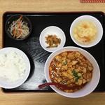 ニイハオ!ポンユウ - 麻婆定食 850円