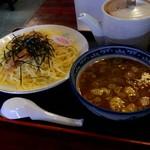 お食事処 南海 - 醤油つけ麺大盛940円