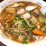 幸来 - 広東麺 750円