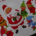 10914315 - サンタクロースの可愛いパッケージ