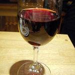 立呑屋 楠木フサヱ - ワンコインセットの赤ワイン