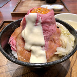 ローストビーフ大野 - 黒毛和牛のローストビーフ丼