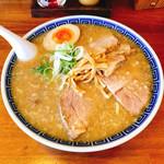焼干しらーめん 渡り家 - こく煮干チャーシュー麺  980円