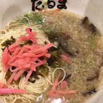 元祖博多だるま - だるま (´∀`)/ 高菜漬 紅生姜 替え玉