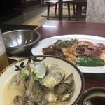 たかみ - 料理写真:貝汁美味しい^^
