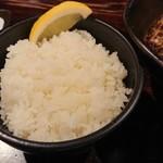 スープカリー 奥芝商店  - ご飯