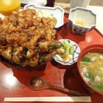 109145138 - かきあげ天丼…1500円