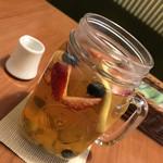 8代葵カフェ - フルーツティー