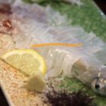 萩心海 - イカ刺し