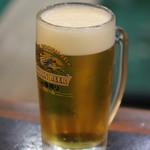 萩心海 - 生ビール