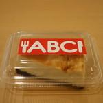 ABC 肉とワインのおいしい店 - ABCチーズケーキパック状態