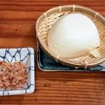 土びん - 釜揚げ豆腐