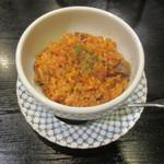 肉料理 阿蘇 - ミニキムチチャーハン 450円