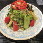肉料理 阿蘇 - サラダ 550円
