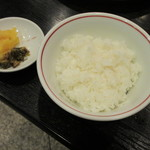 肉料理 阿蘇 - ごはん(小) 150円