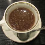 肉料理 阿蘇 - オニオンスープ 450円
